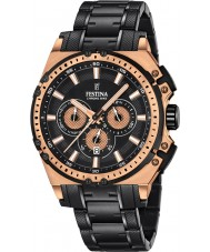 Festina F16972-1 Mens Chrono Bike Black Steel Chronograph Watch