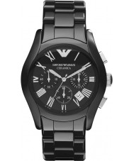 Emporio Armani AR1400 Mens Ceramic Black Chronograph Watch