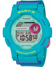 Casio BGD-180FB-2ER Ladies Baby-G World Time Blue Resin Strap Digital Watch