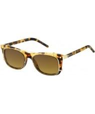 Marc Jacobs MARC 17-S U63 VO Havana Gold Sunglasses