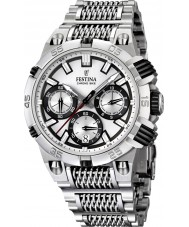 Festina F16774-1 Mens 2014 Chrono Bike Tour De France Silver Watch