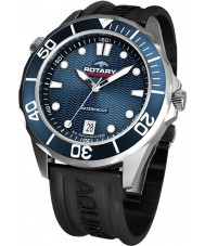 Rotary AGS00068-W-05 Mens Aquaspeed Blue Black Sports Watch