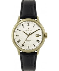 Dreyfuss and Co DGS00076-09 Mens 1925 Gold Black Automatic Watch