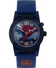 Disney SPD3425 Boys Marvel Ultimate Spiderman Flashing Watch with Blue Silicone Strap