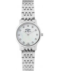 Rotary LB90016-07 Ladies Les Originales Silver Steel Bracelet Watch