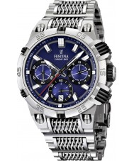 Festina F16774-2 Mens 2014 Chrono Bike Tour De France Blue Silver Watch