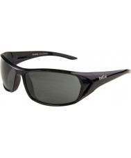 Bolle Blacktail Shiny Black Polarized TNS Sunglasses