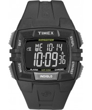 Timex T49900 Mens Black Full Wide Expedition Chrono Watch