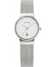 Skagen 355SSS1 Ladies Klassik Chrome Patterned Watch