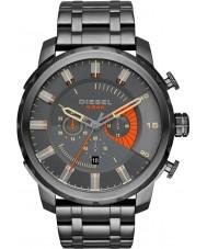 Diesel DZ4348 Mens Stronghold Chronograph Gunmetal Bracelet Watch