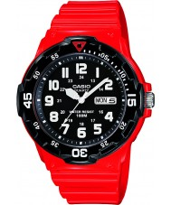 Casio Collection Red Resin Watch
