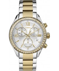 Timex TW2P67000 Ladies City Two Tone Steel Bracelet Watch