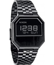 Nixon A158-001 Re-Run All Black Digital Watch