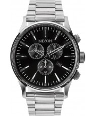 Nixon A386-000 Mens Sentry Chrono Black Watch