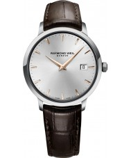 Raymond Weil 5488-SL5-65001 Mens Toccata Brown Leather Strap Watch