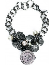 Accessorize J1010 Ladies Cluster Charm Bracelet Watch