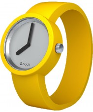 O clock SILVER Yellow Watch