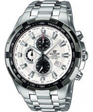 Casio EF-539D-7AVEF Mens Edifice White Silver Chronograph Watch