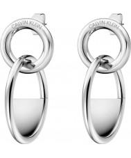 Calvin Klein KJ8GME000100 Ladies Locked Earrings