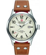 Swiss Military 6-4280-04-002-02 Mens Undercover Tan Leather Strap Watch
