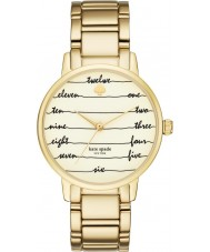 Kate Spade New York KSW1060 Ladies Gramercy Gold Plated Bracelet Watch