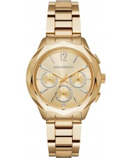Karl Lagerfeld KL4006 Ladies Optik Gold Plated Chronograph Watch