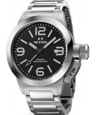 TW Steel TW0300 Canteen Black Silver Bracelet Watch