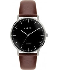 Kartel KT-LEW-SBC Lewis Chocolate Brown Leather Strap Watch