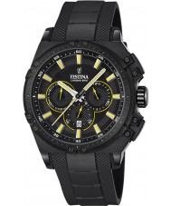 Festina Mens Chrono Bike Black Rubber Chronograph Watch