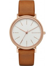 Skagen SKW2488 Ladies Hald Light Brown Leather Strap Watch