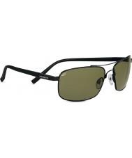 Serengeti Palladio Satin Black Polarized PhD 555nm Sunglasses