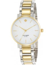 Kate Spade New York 1YRU0005 Ladies Gramercy Two Tone Steel Bracelet Watch