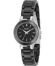DKNY NY4887 Ladies Ceramics Black Watch