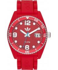 Adidas Brisbane Red Silicone Watch