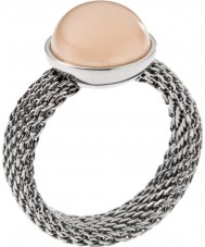 Skagen Ladies Slver Stone Ring