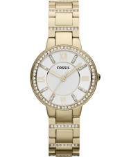 Fossil ES3283 Ladies Virginia Gold Plated Bracelet Watch