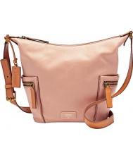 Fossil Ladies Emerson Shell Small Hobo Bag