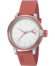 Puma PU103772002 Ultraviolet Red Silicone Strap Watch