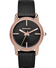 Diesel DZ5512 Ladies Bitty Black Leather Strap Watch