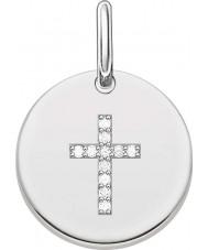 Thomas Sabo LBPE0007-051-14 Ladies Love Bridge 925 Sterling Silver Pendant