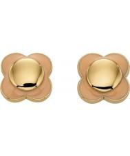 Orla Kiely E5161 Ladies Daisy Chain 18ct Gold Blush Flower Stud Earrings