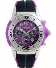 Krug-Baumen 160510KM Kingston Gents Purple And Black Chronograph