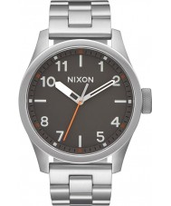 Nixon A974-131 Mens Safari Silver Steel Bracelet Watch