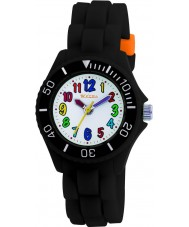 Tikkers TK0016 Kids Black Rubber Watch