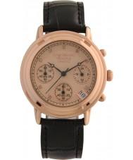 Krug-Baumen 150577DL Principle Diamond Ladies Rose Gold Strap Watch