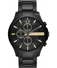 Armani Exchange AX2164 Mens All Black Chronograph Dress Watch
