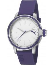 Puma PU103772003 Ultraviolet Violet Silicone Strap Watch