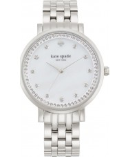 Kate Spade New York 1YRU0820 Ladies Monterey Silver Tone Steel Bracelet Watch