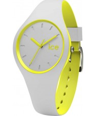 Ice-Watch DUO.GYW.S.S.16 Ice Duo Grey Silicone Strap Watch