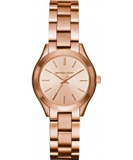 Michael Kors MK3513 Ladies Mini Slim Runway Rose Gold Plated Watch